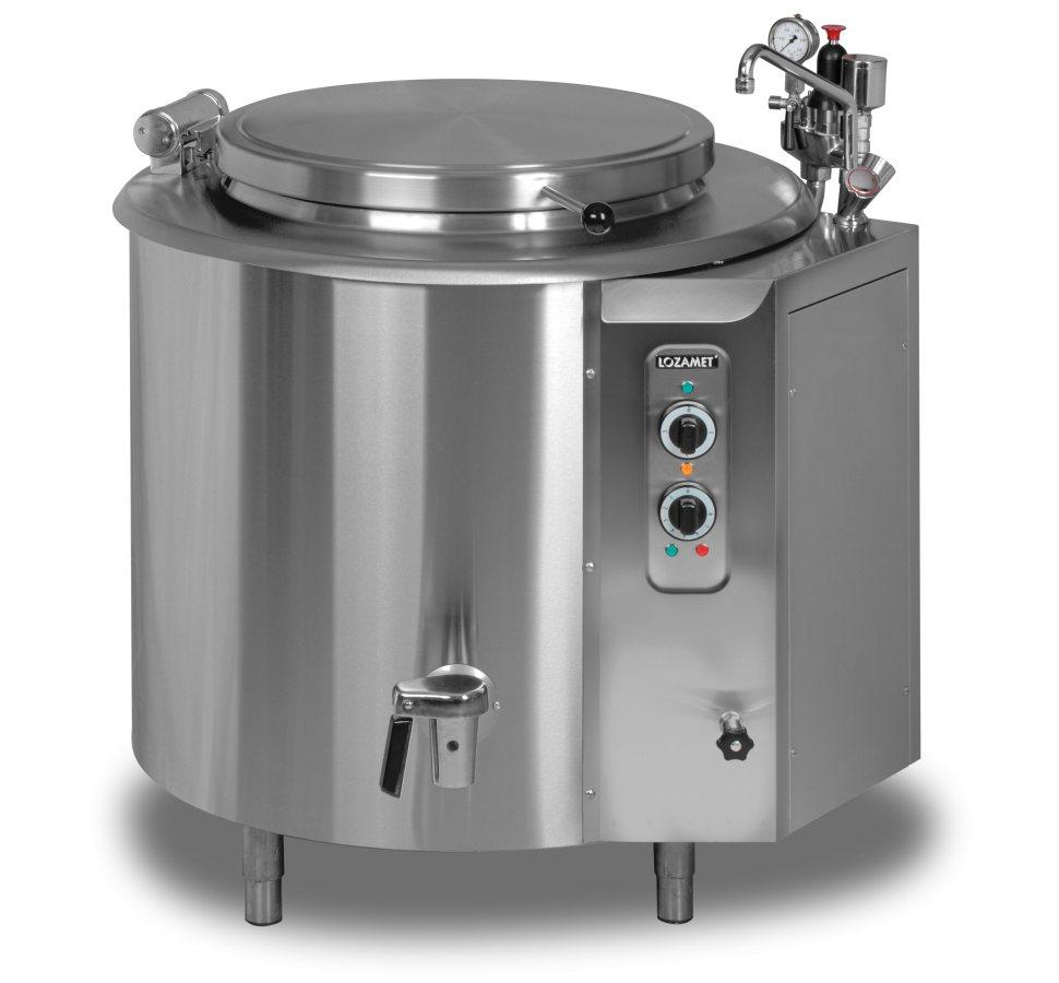 Kotły warzelne elektryczne  KOCIOŁ ELEKTRYCZNY WKE 150 9 -> Kuchnie Elektryczne Wolnostojące Bosch